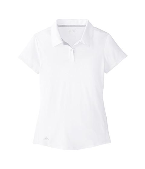 adidas Golf Kids Climalite Essentials Short Sleeve Heathered Polo (Big Kids)