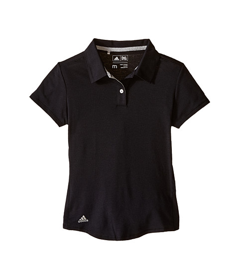 adidas Golf Kids Climalite Essentials Short Sleeve Heathered Polo (Big Kids)