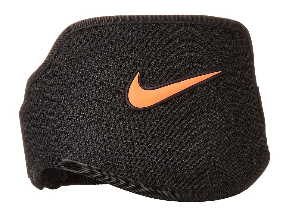 Nike - Strength Training Belt 2.0 (Black/Total Crimson) Athletic Sports Equipment
