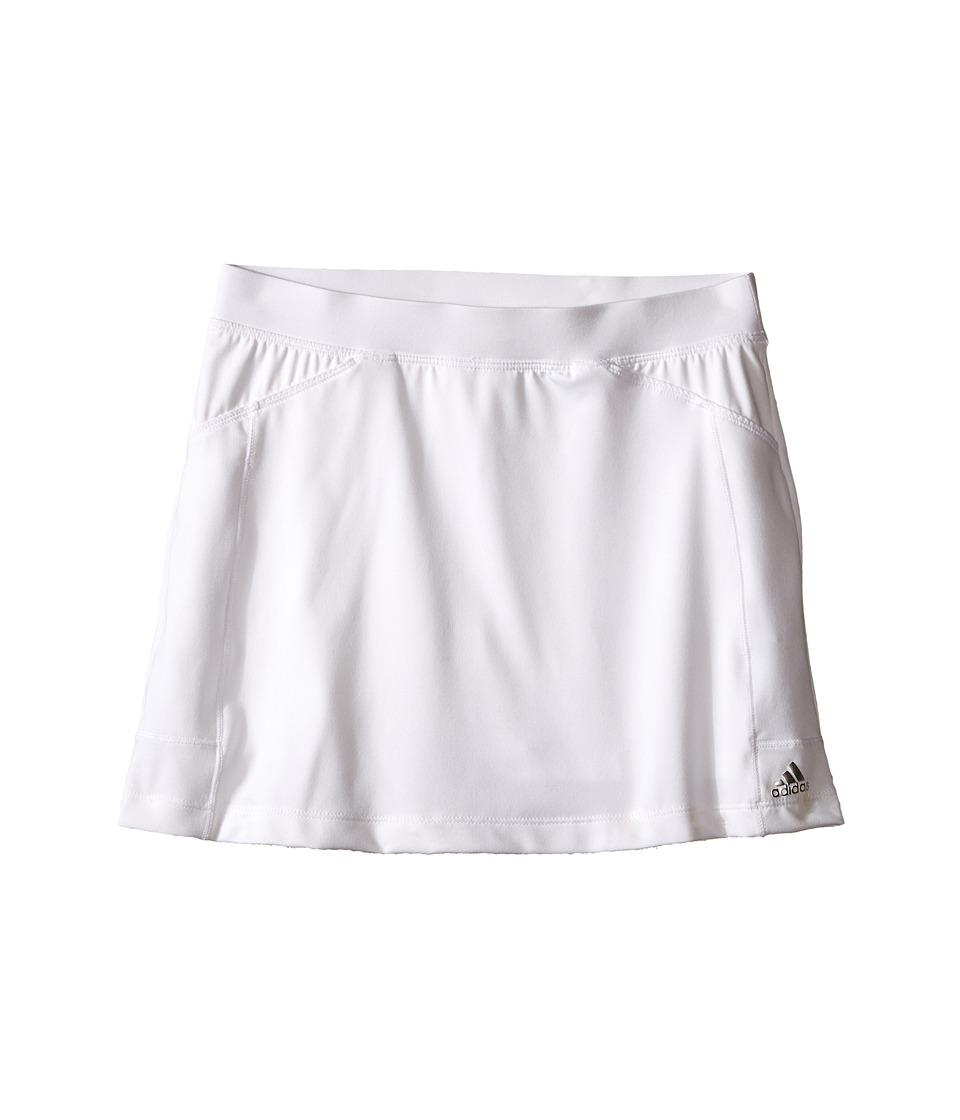 adidas Golf Kids Adistar Rangewear Skort Big Kids White/White Girls Skort
