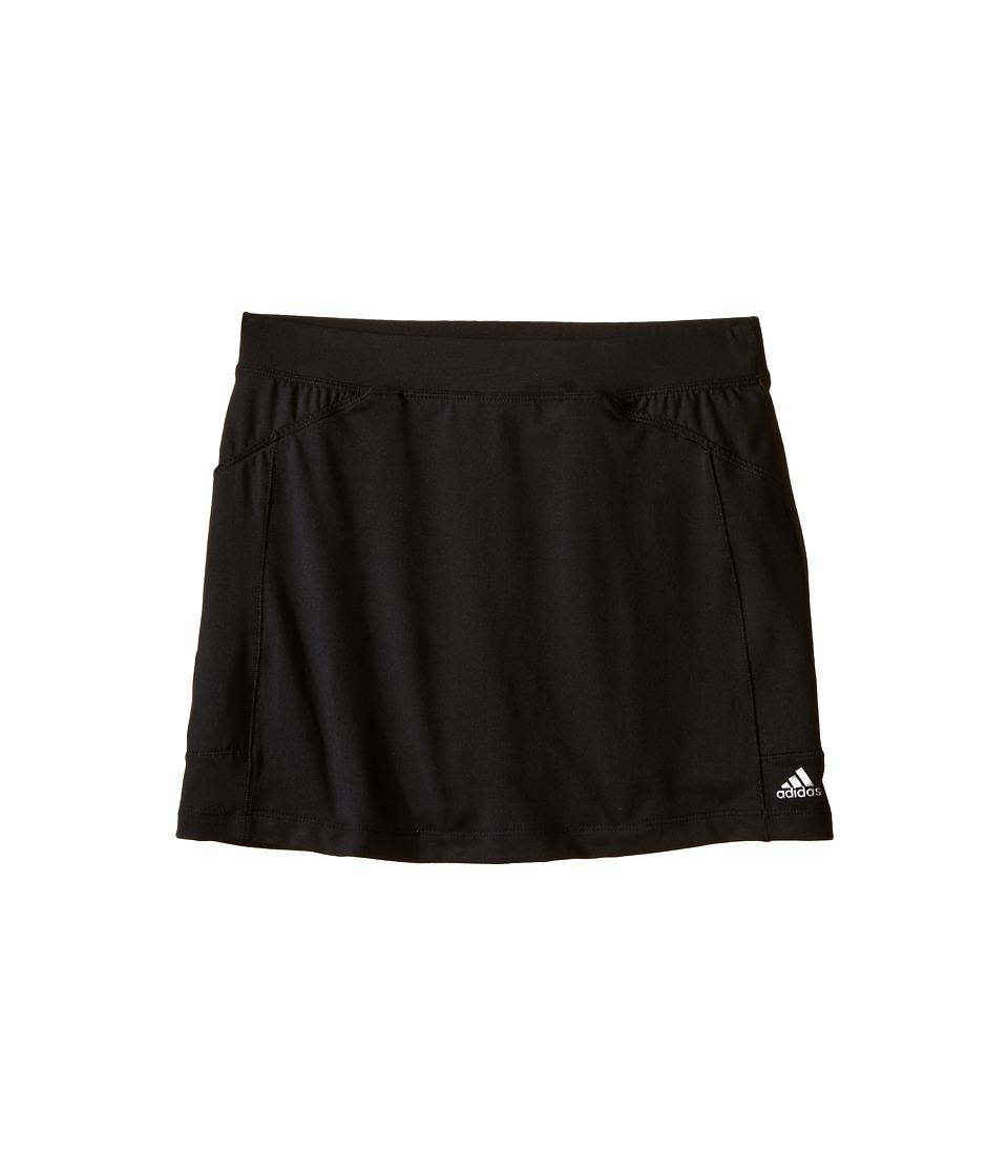adidas Golf Kids Adistar Rangewear Skort Big Kids Black/Black Girls Skort