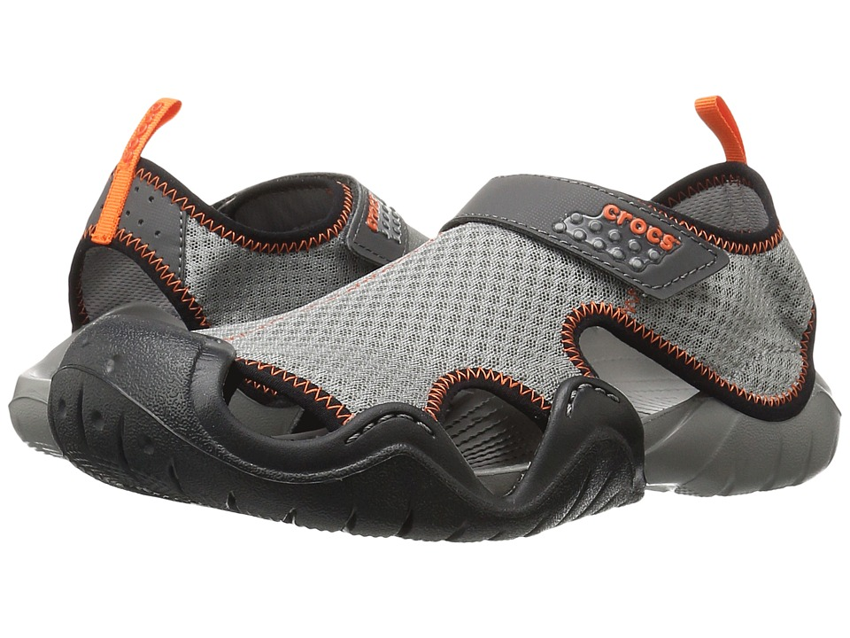 Crocs - Swiftwater Sandal (Smoke/Graphite) Men
