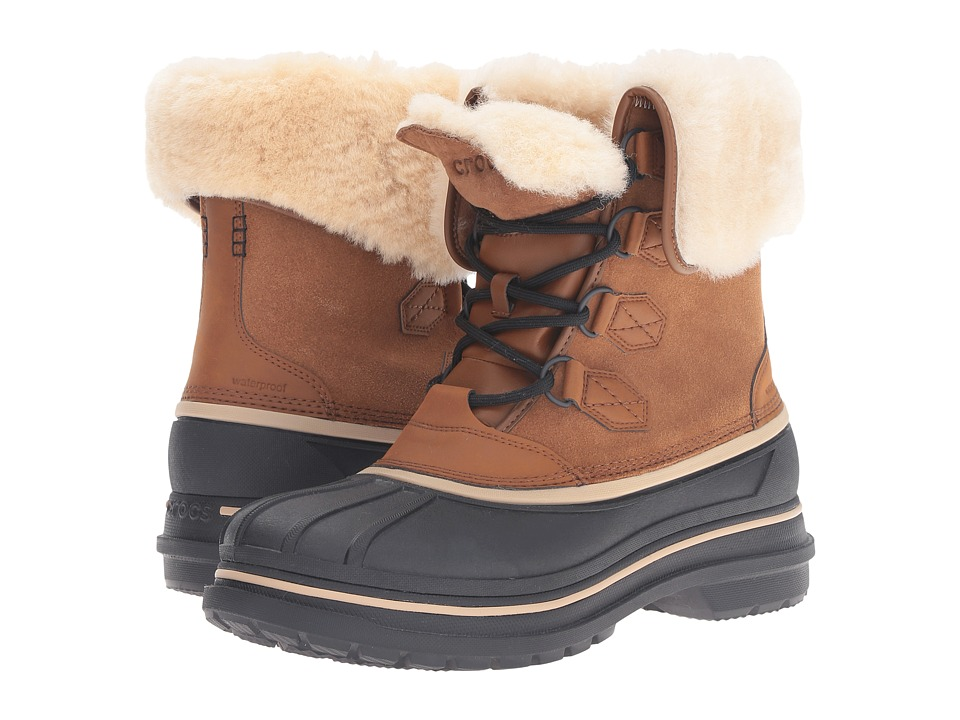 Crocs AllCast II Luxe Boot (Wheat/Black) Men