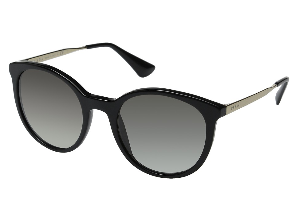 Prada 0PR 17SS Black/Grey Gradient Fashion Sunglasses