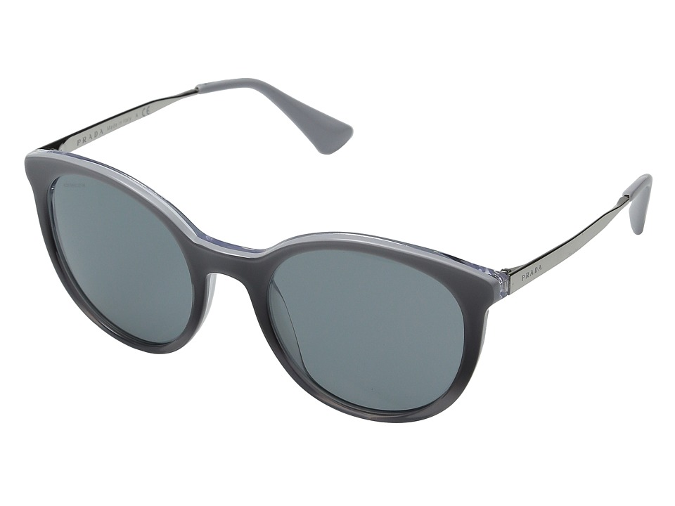 Prada 0PR 17SS Grey Gradient/Dark Grey Fashion Sunglasses