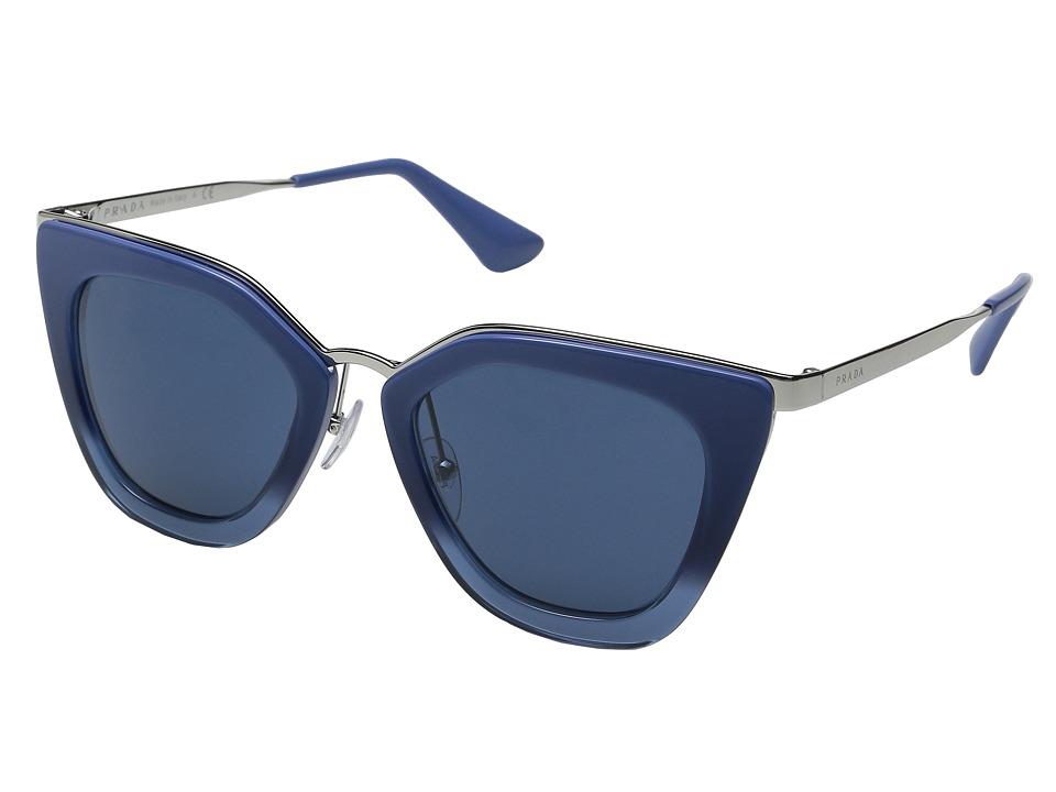 Prada 0PR 53SS (Blue Gradient/Blue) Fashion Sunglasses