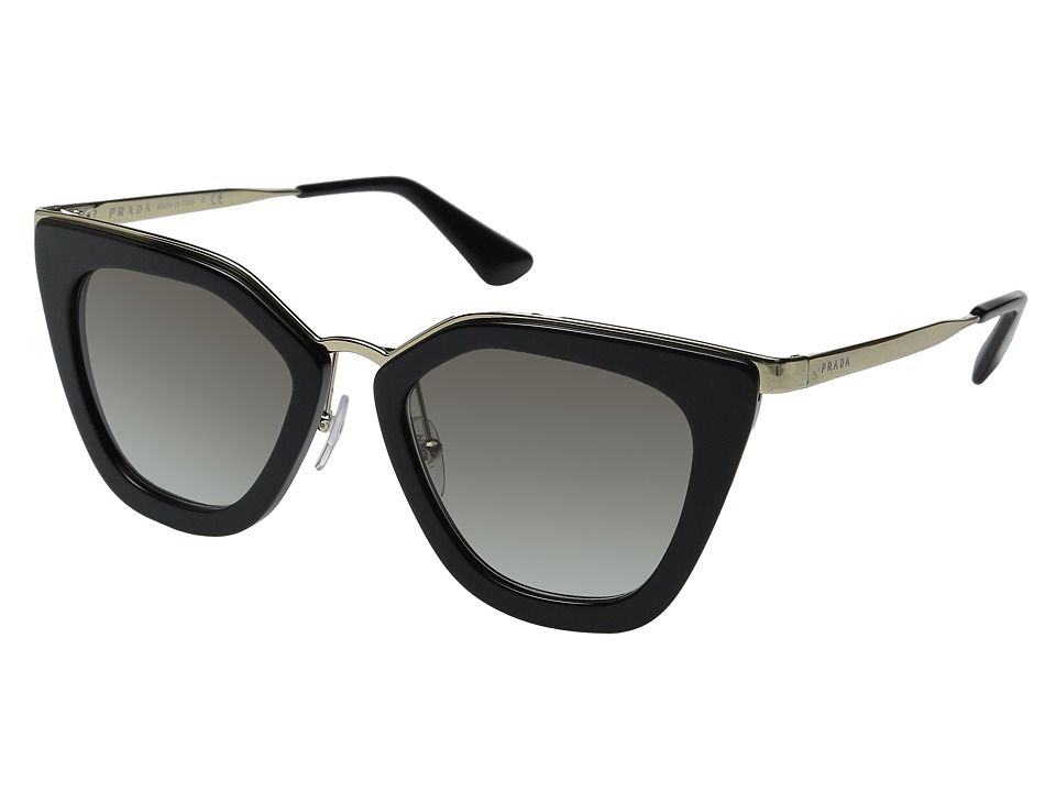 Prada 0PR 53SS Black/Grey Gradient Fashion Sunglasses