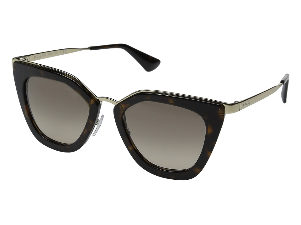 Prada 0PR 53SS Havana/Brown Gradient Fashion Sunglasses