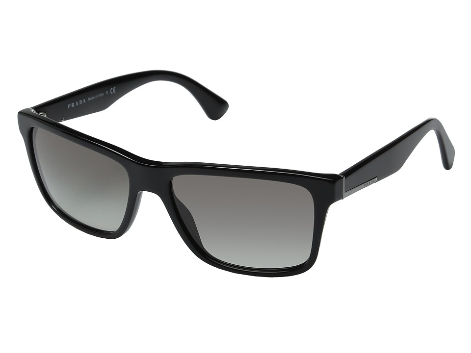 Prada 0PR 19SS Black/Grey Gradient Fashion Sunglasses