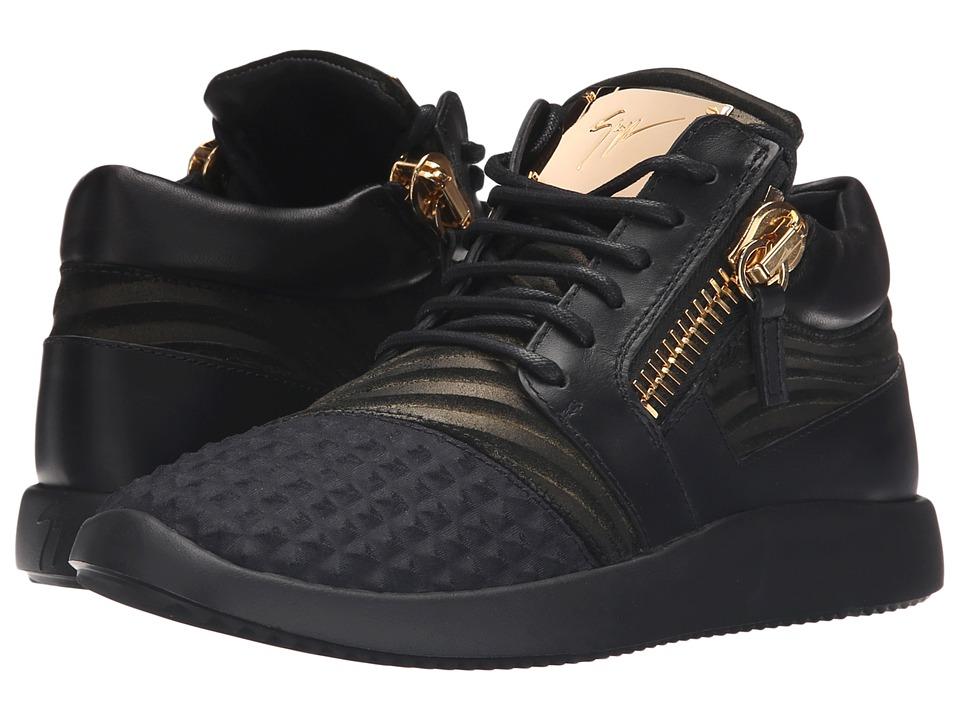 Giuseppe Zanotti RW6103 Iperstud Nero Womens Shoes