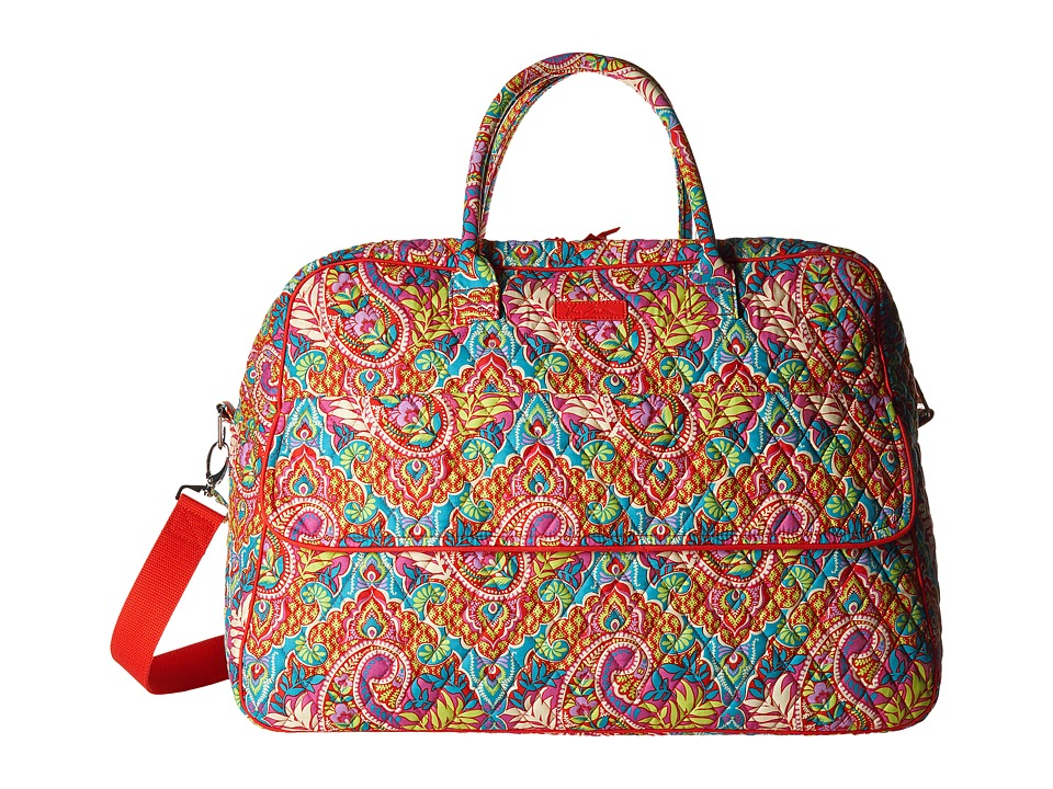 Vera Bradley Luggage - Grand Traveler (Paisley in Paradise) Duffel Bags
