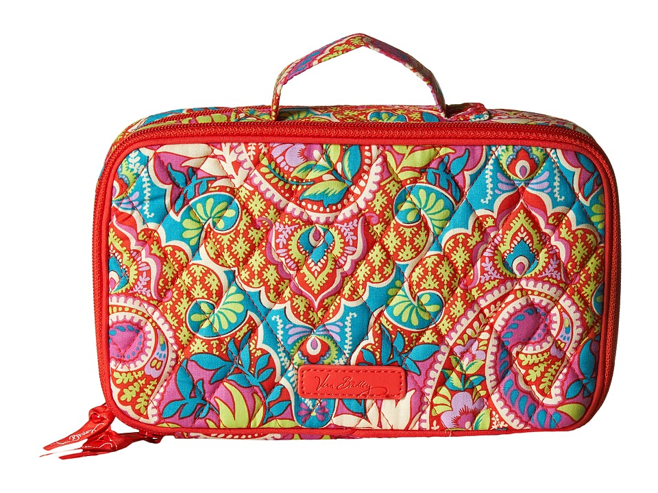 Vera Bradley Luggage - Blush Brush Makeup Case (Paisley in Paradise) Cosmetic Case
