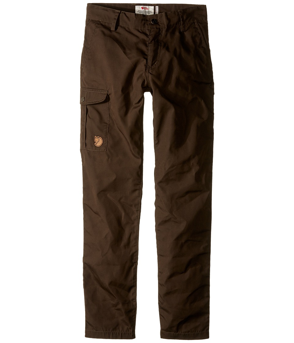Fjallraven Kids - Kids Ovik Trousers (Dark Olive) Kids Casual Pants