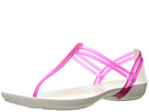 Crocs - Isabella T-Strap (Berry/Oyster)