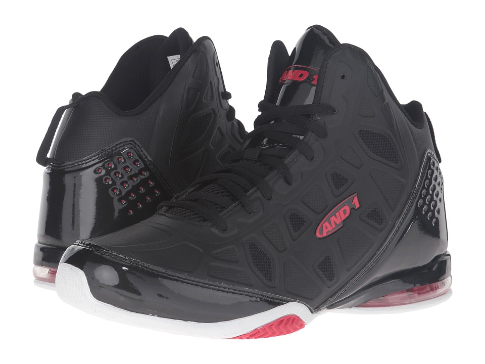 Image of AND1 - Master 3 (Black/Red) Men's Basketball Shoes