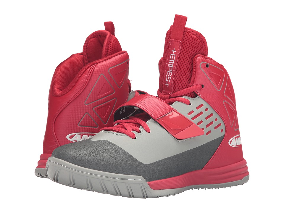 AND1 Tempest (F1 Red/Limestone/Gunmetal) Men