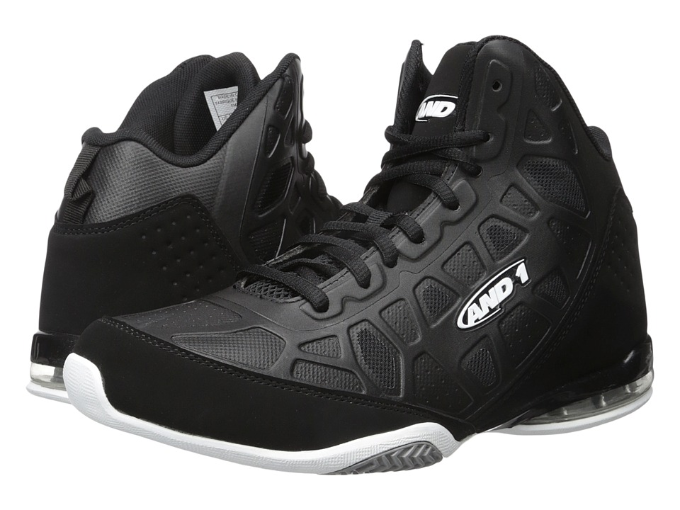 Image of AND1 - Master 3 (Black/White) Men's Basketball Shoes