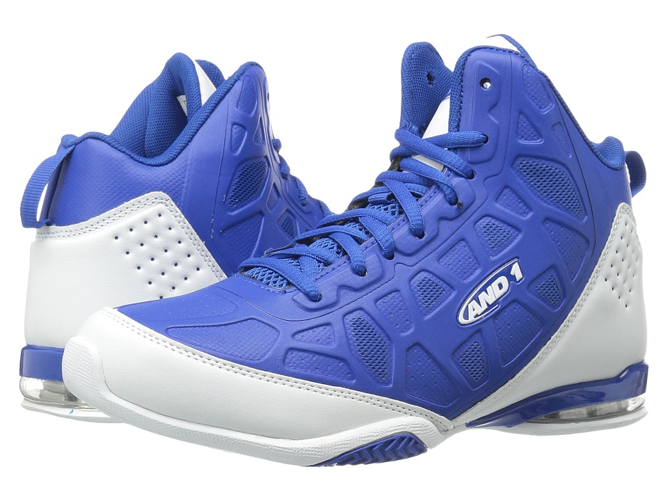 AND1 - Master 3 (Royal/White) Mens Basketball Shoes