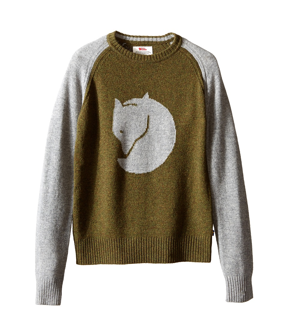 Fj llr ven Kids - Kids Fox Sweater (Fog) Kid