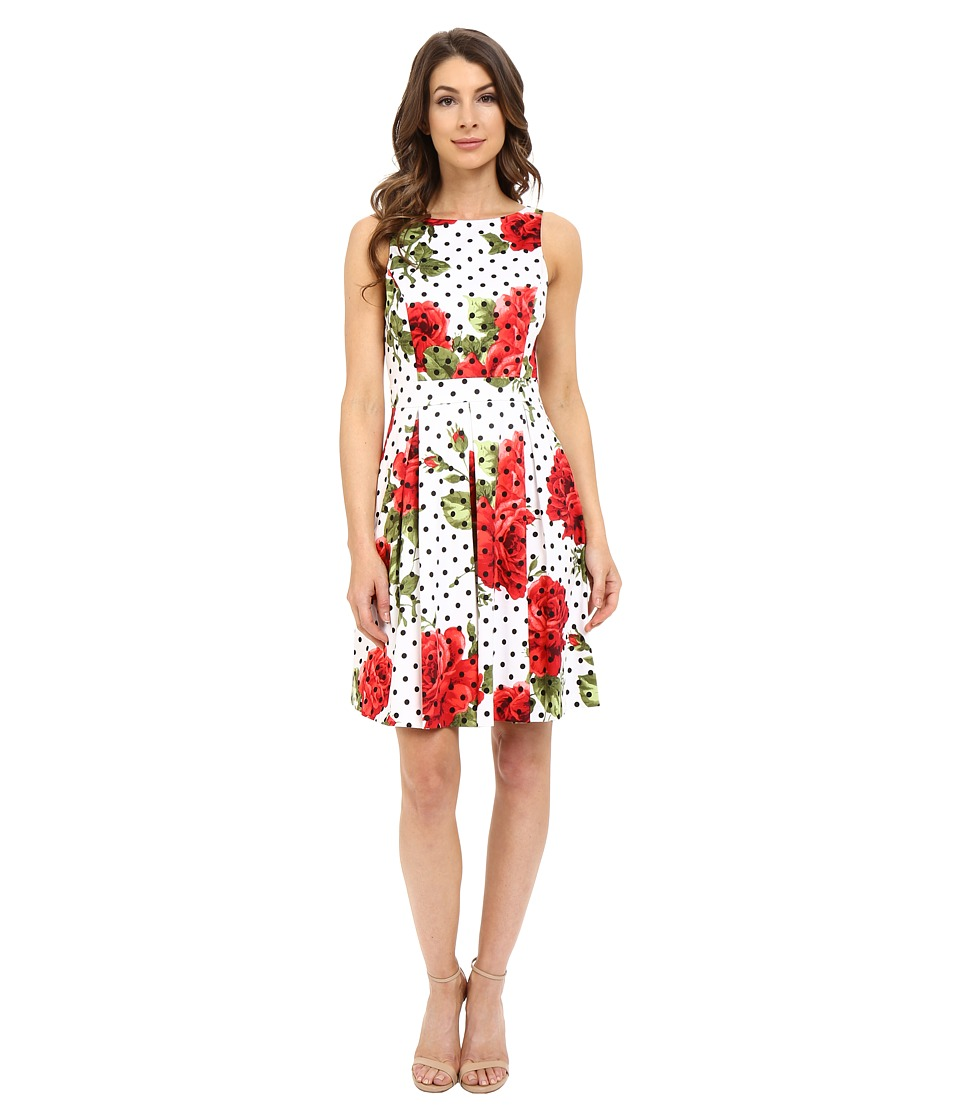 Jessica Simpson Printed Bow Back Dress Print Womens Dress