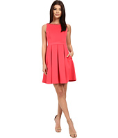 Jessica Simpson - Solid Bow Back Dress with Neck Trim