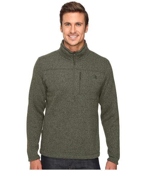 The North Face Gordon Lyons 1/4 Zip Pullover - Climbing Ivy Green Heather