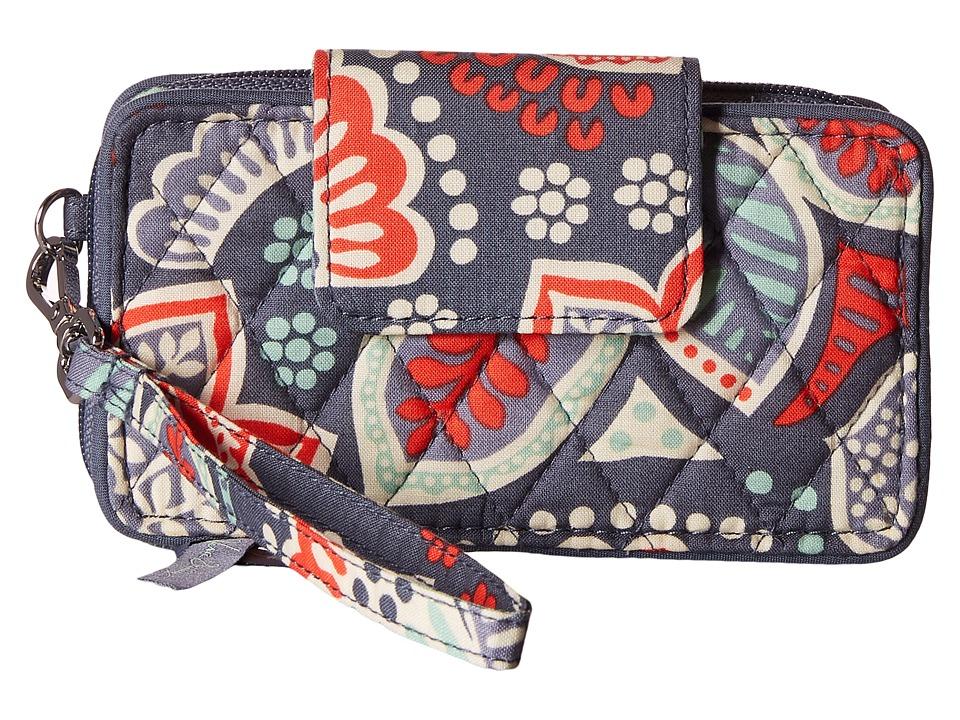 Vera Bradley Smartphone Wristlet for iPhone 6 Nomadic Floral Clutch Handbags