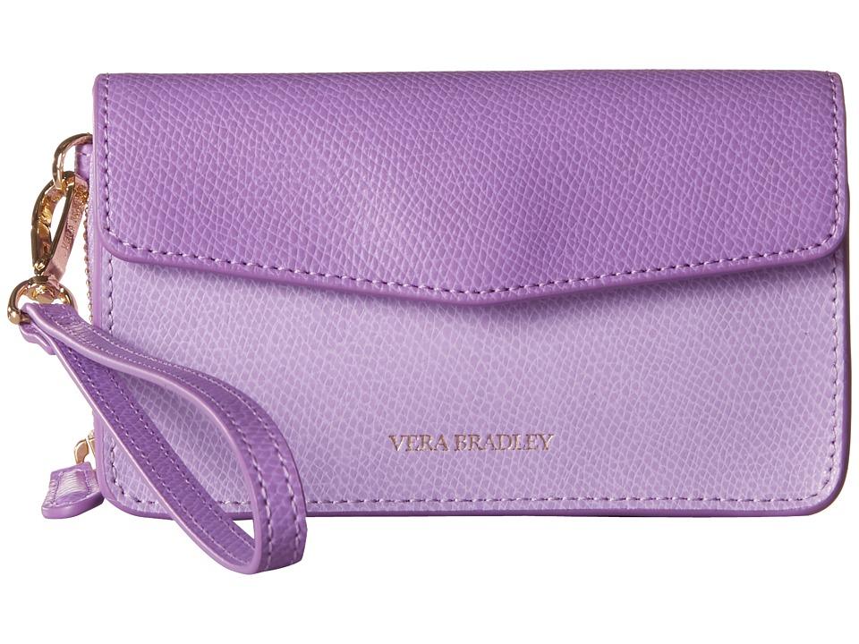 Vera Bradley Smartphone Wristlet for iPhone 6 Lilac Clutch Handbags