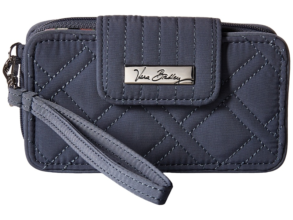 Vera Bradley Smartphone Wristlet for iPhone 6 Charcoal Clutch Handbags