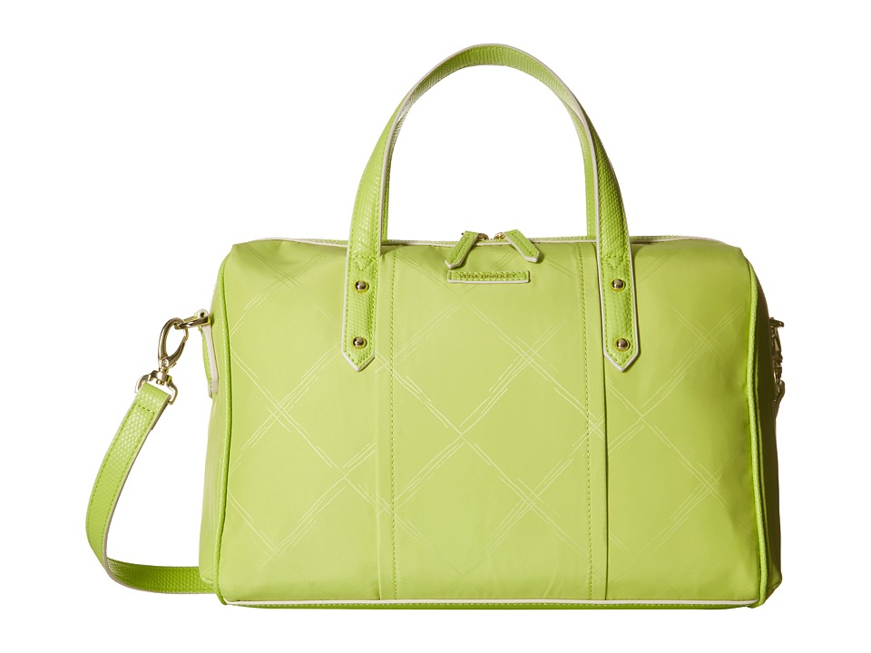 Vera Bradley Preppy Poly Marlo Satchel Citrine Satchel Handbags