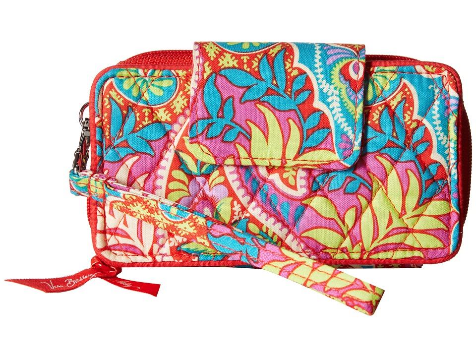 Vera Bradley Smartphone Wristlet for iPhone 6 Paisley in Paradise Clutch Handbags