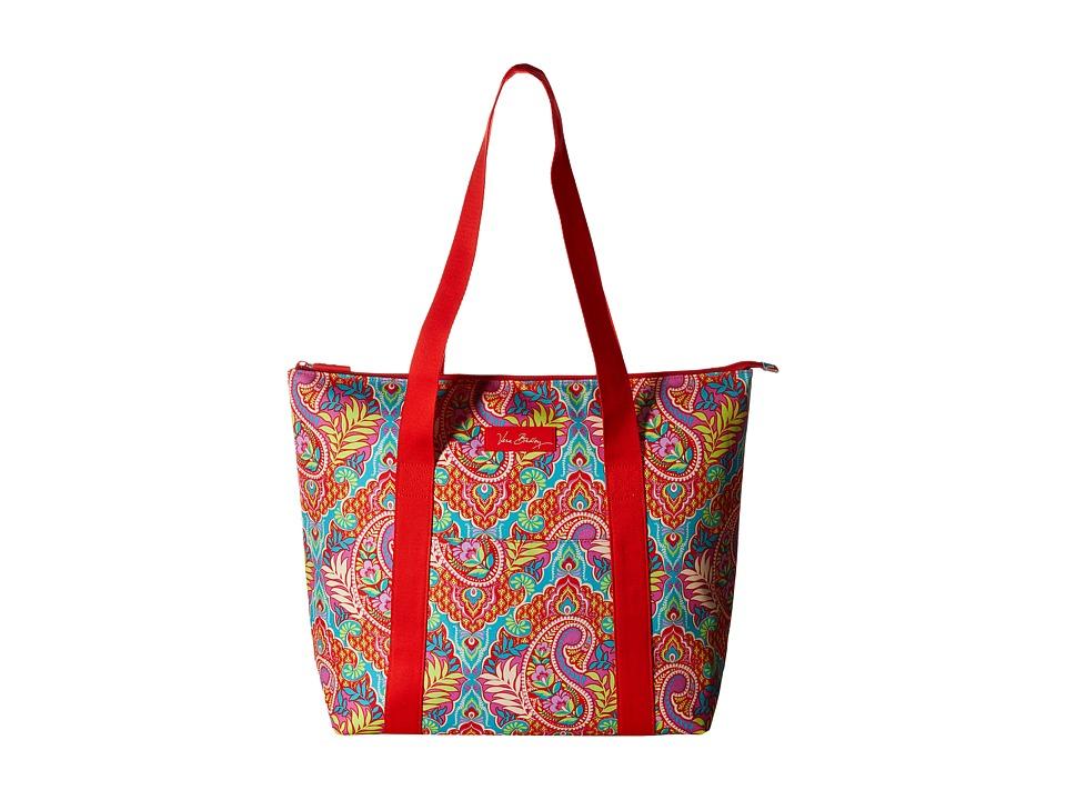 Vera Bradley - Cooler Tote (Paisley in Paradise) Tote Handbags