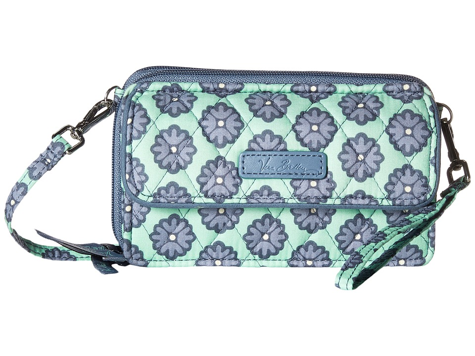 Vera Bradley - All in One Crossbody for iPhone 6+ (Nomadic Blossoms) Clutch Handbags