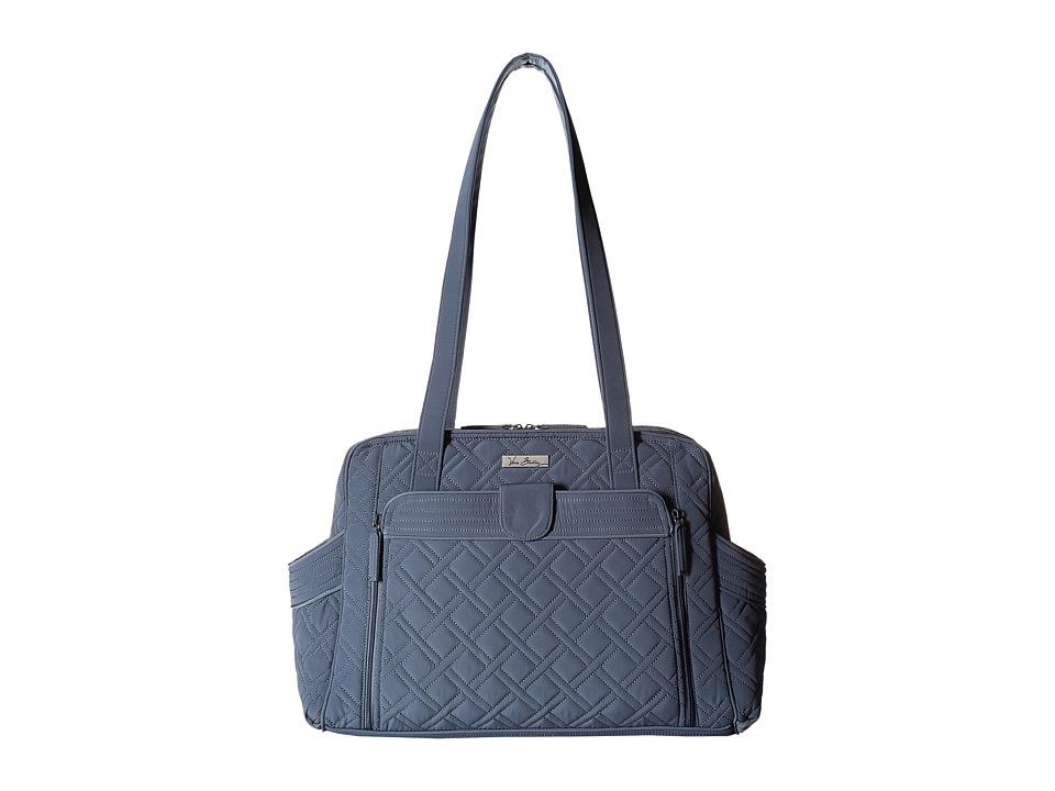 Vera Bradley Stroll Around Baby Bag (Charcoal) Diaper Bags