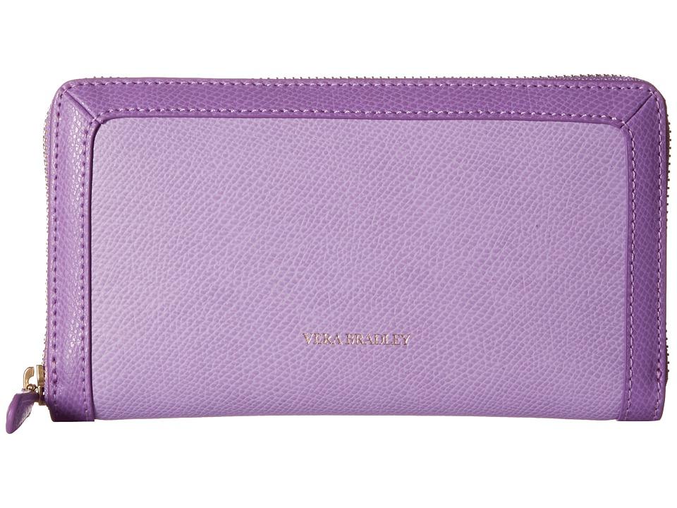 Vera Bradley Georgia Wallet Lilac Wallet Handbags