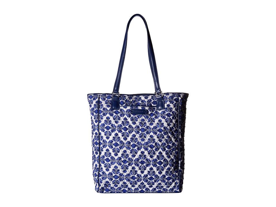 Vera Bradley Crosstown Tote Cobalt Tile/Navy Tote Handbags