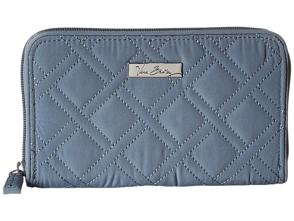 Vera Bradley Accordion Wallet Charcoal Wallet Handbags