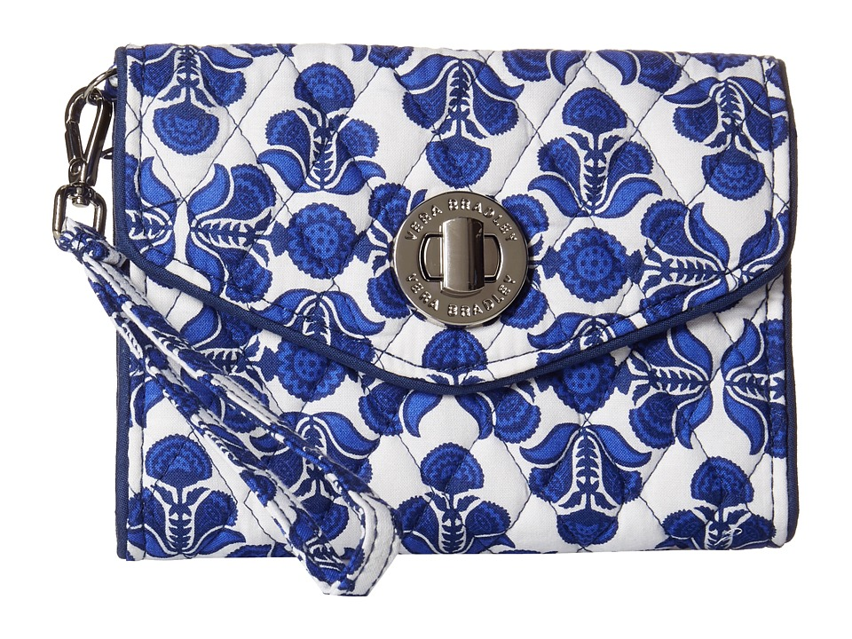 Vera Bradley Your Turn Smartphone Wristlet Cobalt Tile Wristlet Handbags