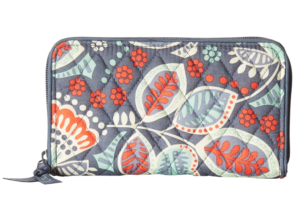 Vera Bradley Accordion Wallet Nomadic Floral Wallet Handbags