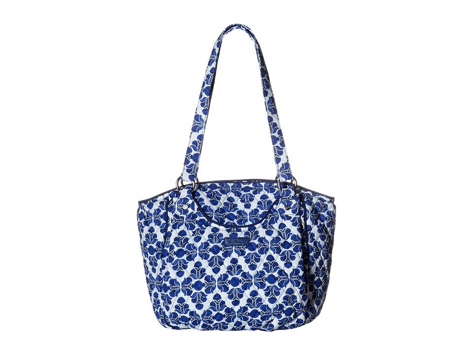 Vera Bradley - Glenna (Cobalt Tile) Tote Handbags