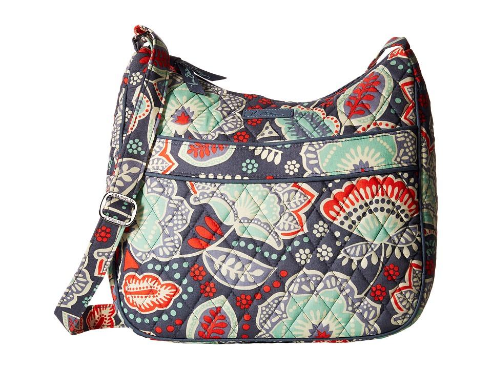 Vera Bradley - Carryall Crossbody (Nomadic Floral) Cross Body Handbags