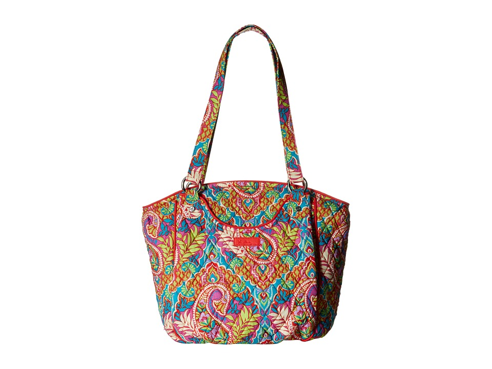 Vera Bradley - Glenna (Paisley in Paradise) Tote Handbags