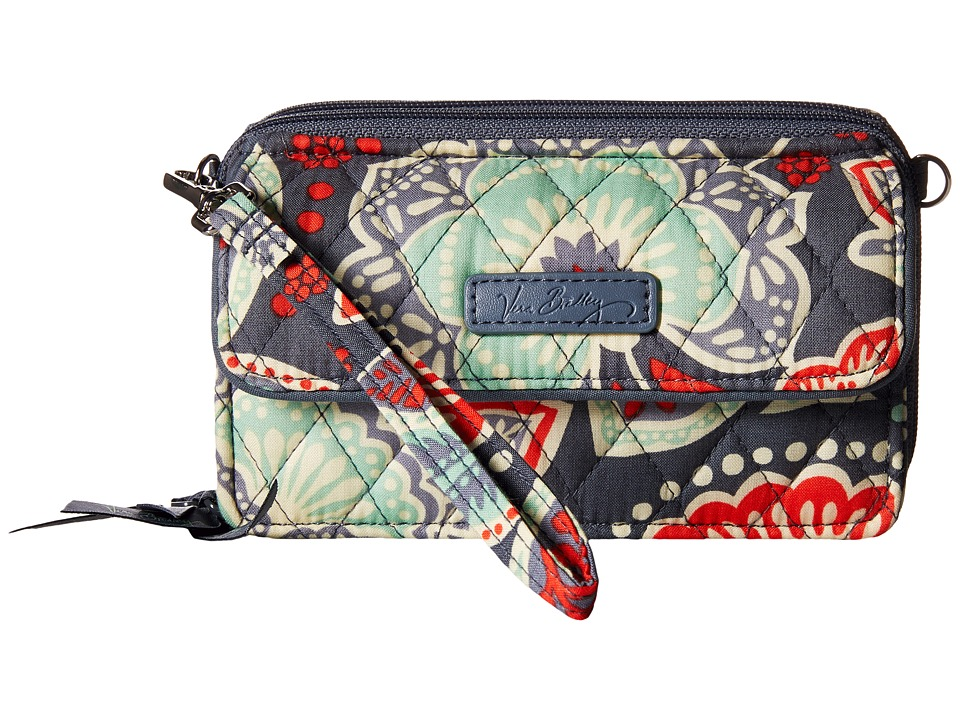 Vera Bradley - All in One Crossbody for iPhone 6+ (Nomadic Floral) Clutch Handbags
