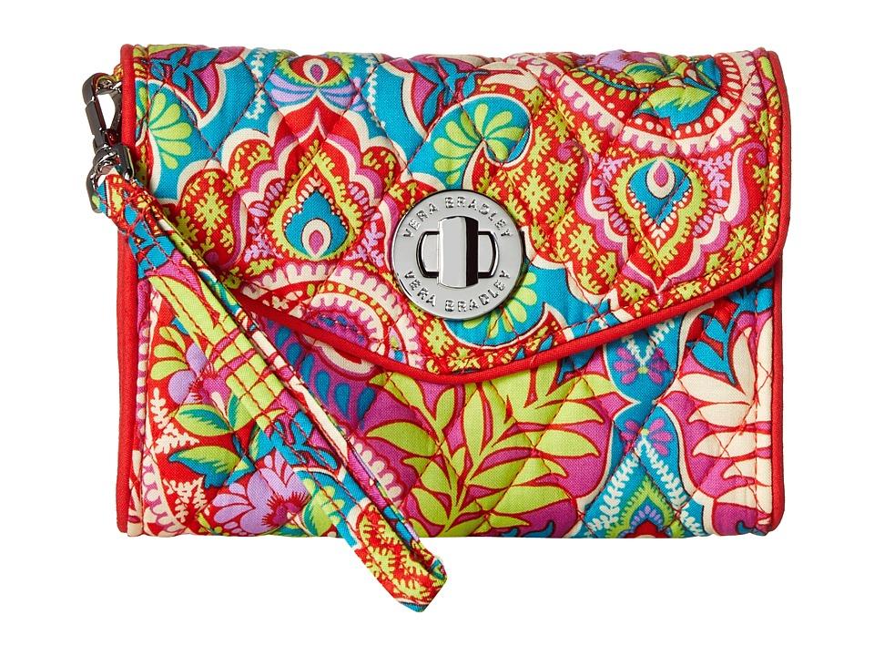 Vera Bradley Your Turn Smartphone Wristlet Paisley in Paradise Wristlet Handbags