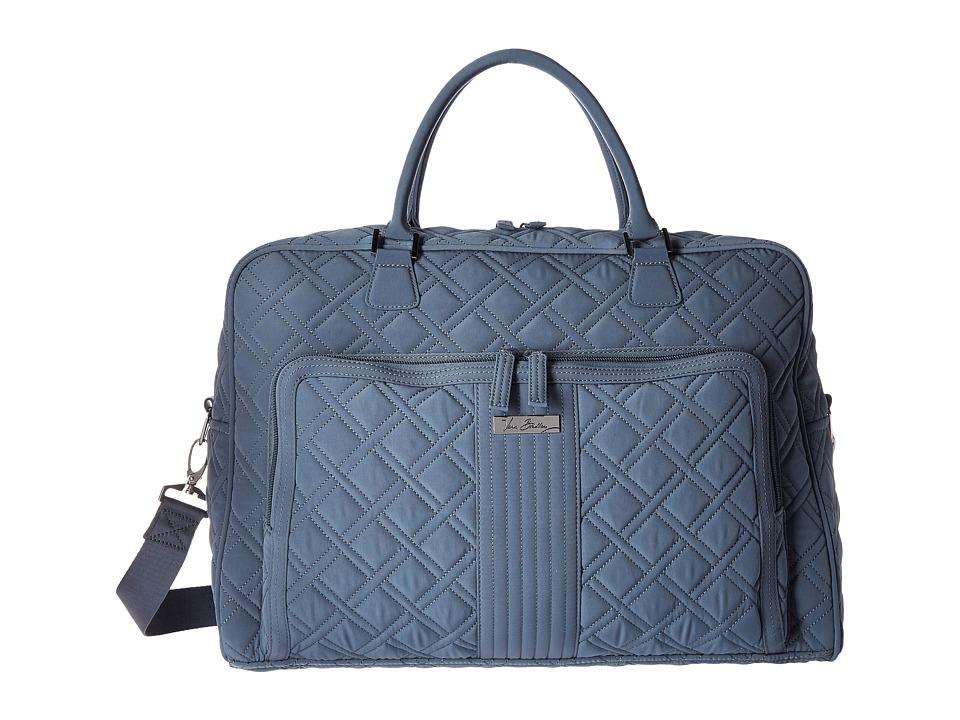 Vera Bradley Luggage - Weekender (Charcoal) Duffel Bags