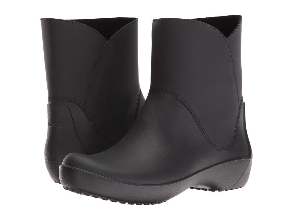 Crocs RainFloe Bootie (Black) Women