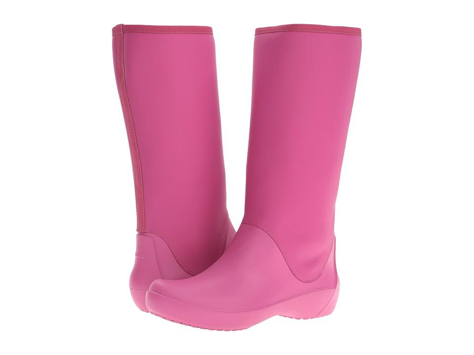 Crocs RainFloe Tall Boot (Berry) Women