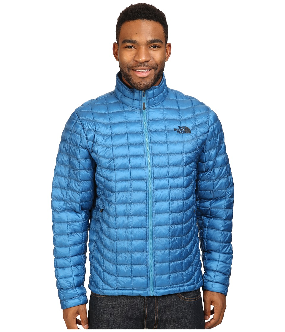 The North Face - ThermoBall Full Zip Jacket (Banff Blue) Men