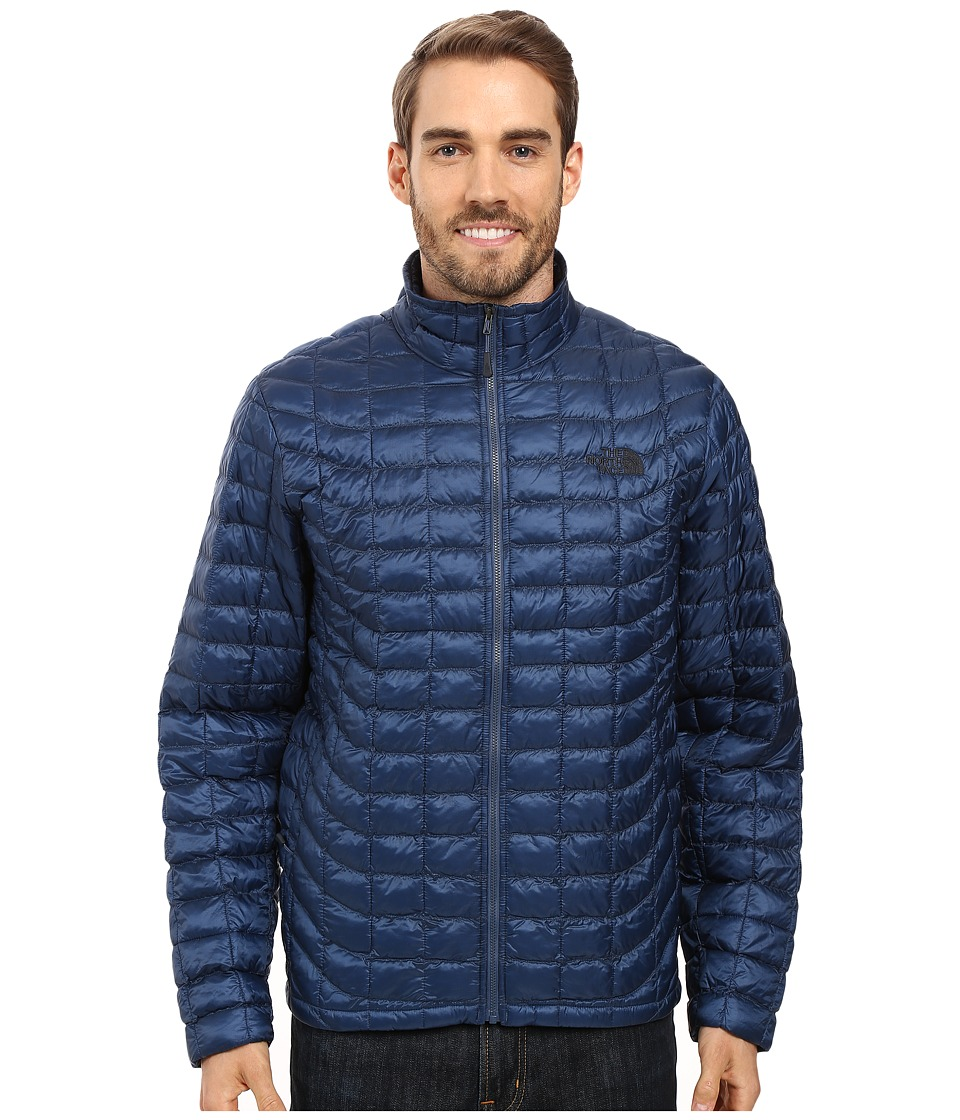 The North Face - ThermoBall Full Zip Jacket (Shady Blue) Men