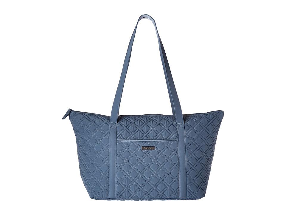 Vera Bradley Luggage - Miller Bag (Charcoal) Tote Handbags